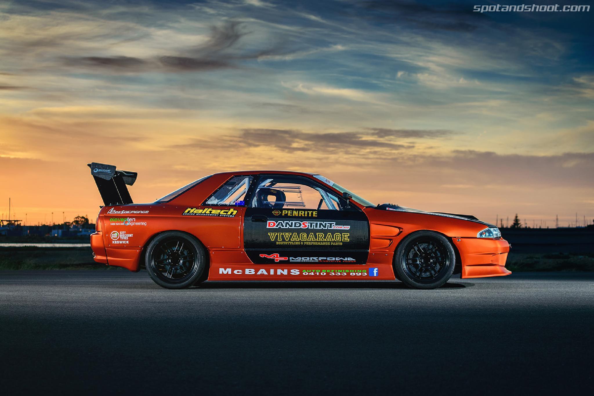 Nissan SKYLINE R32 GTS-T by Andrey Moisseyev Photographer