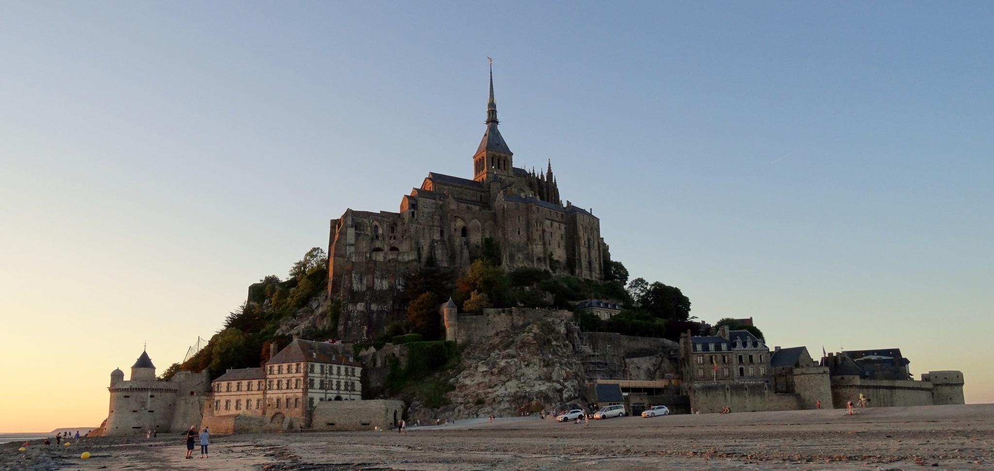 Mont Saint Michel by Catherine G