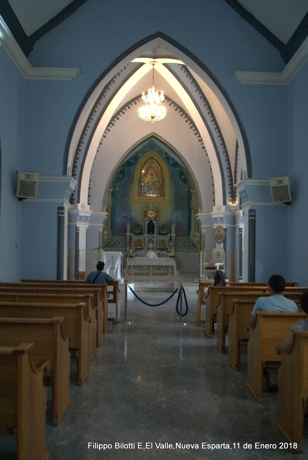 Nave central,Nuestra Señora Del Valle. by FilippoBilottiE