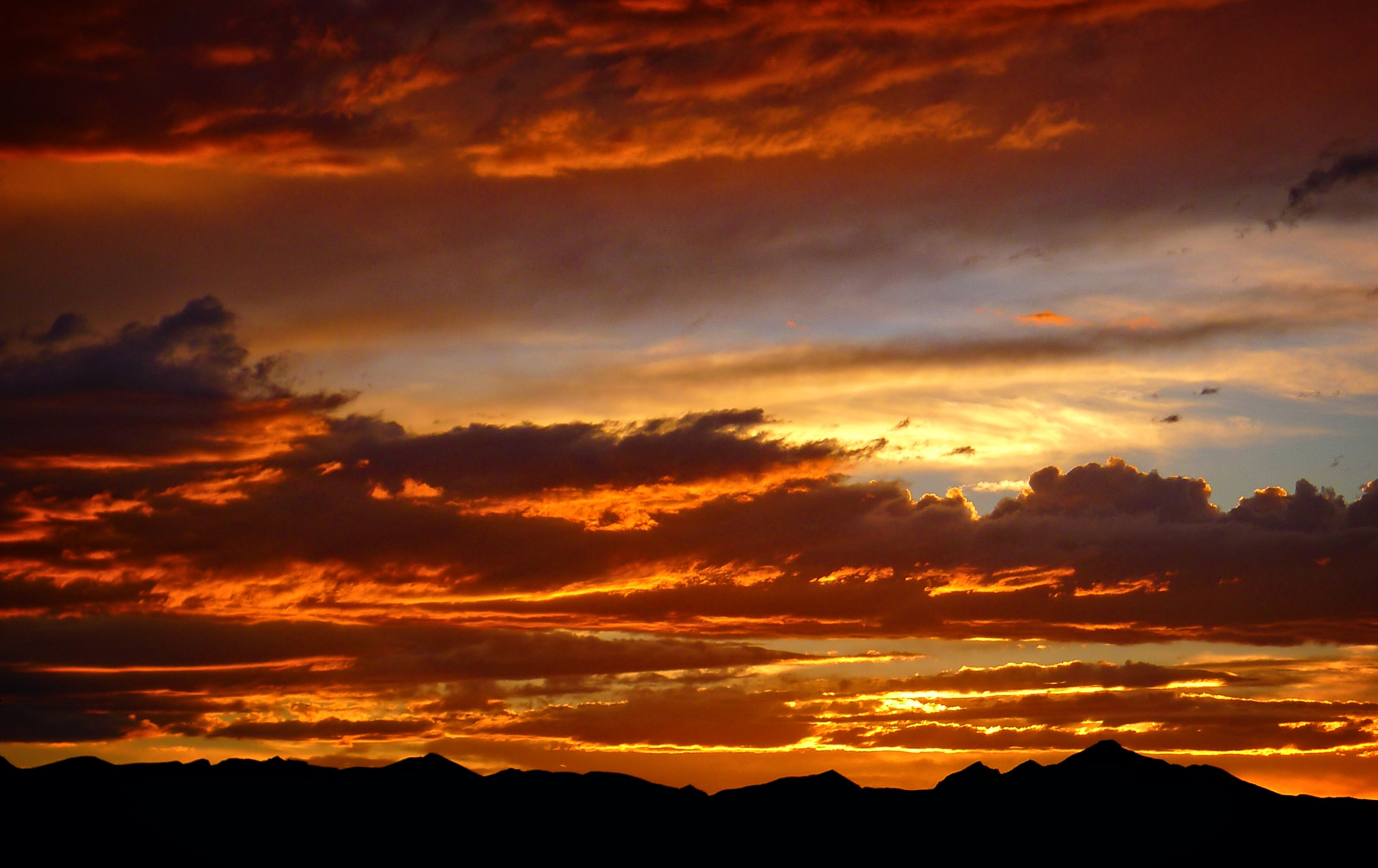 Sunset Over The Front Range by sciguylvms