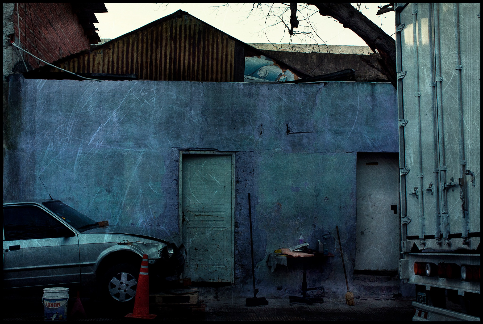 Suburnan scape II by Guillermo Mayoral