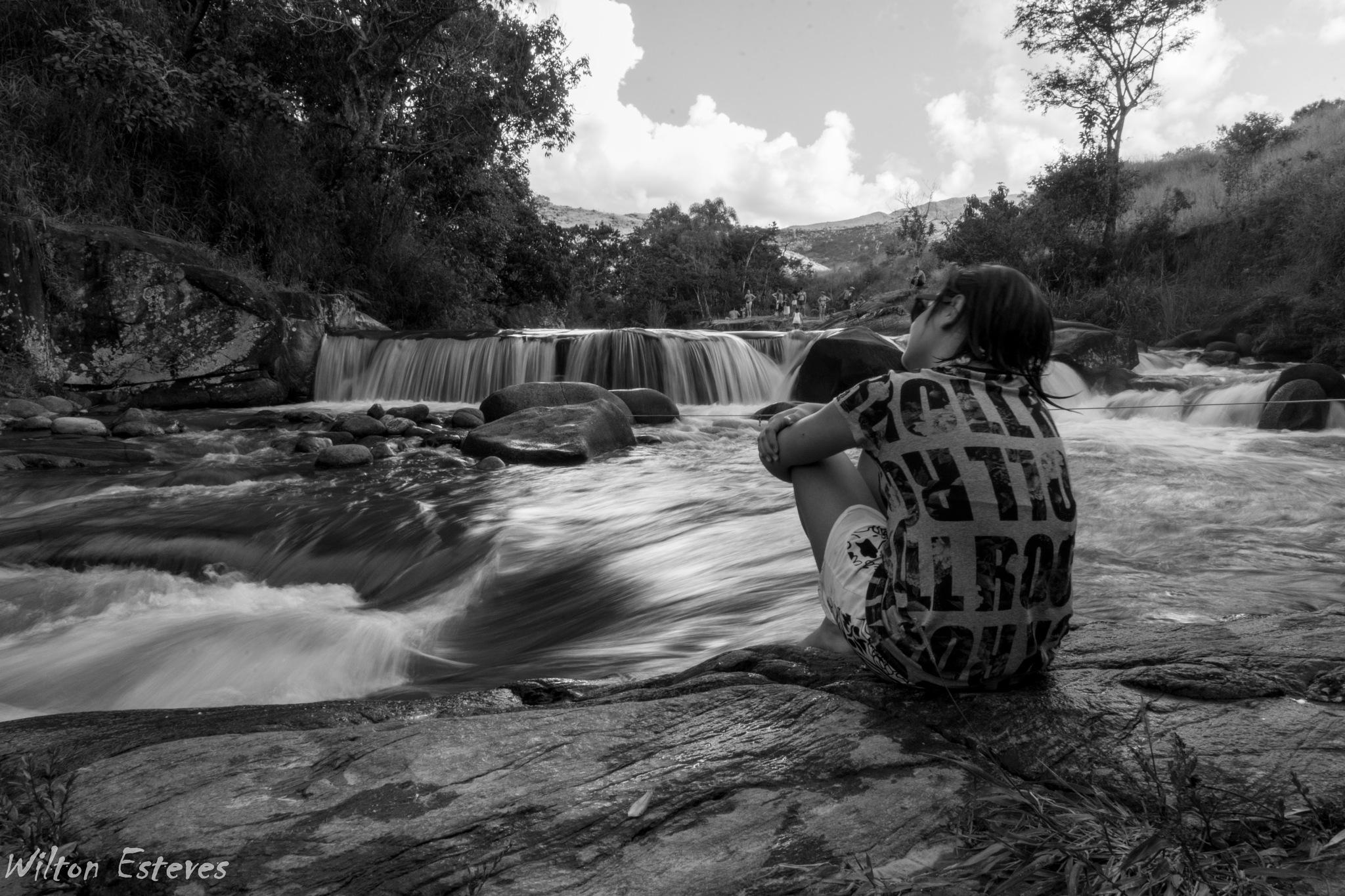 Cachoeira do Vo Delfim by Wilton Esteves