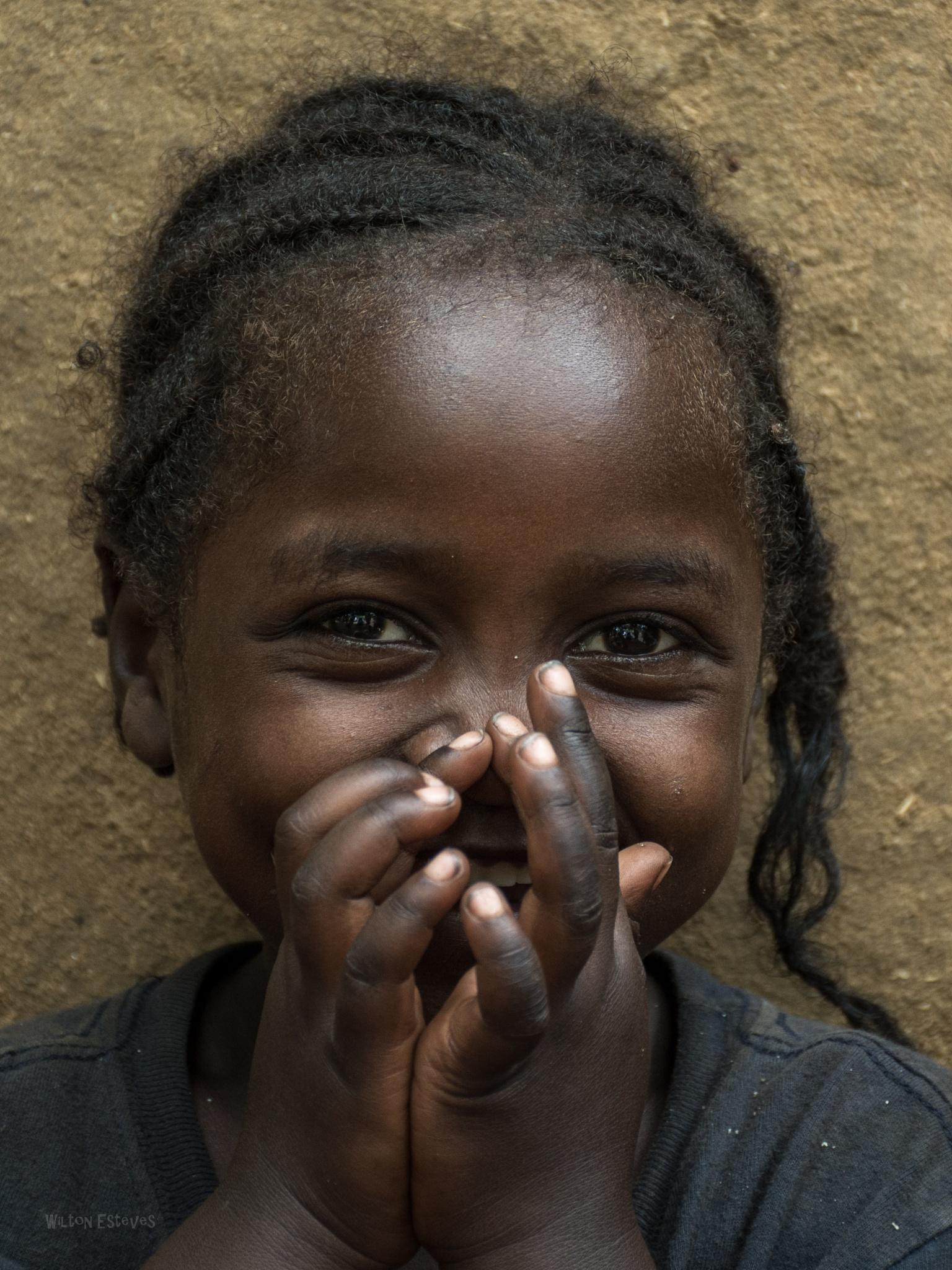 Hidden Smile by Wilton Esteves