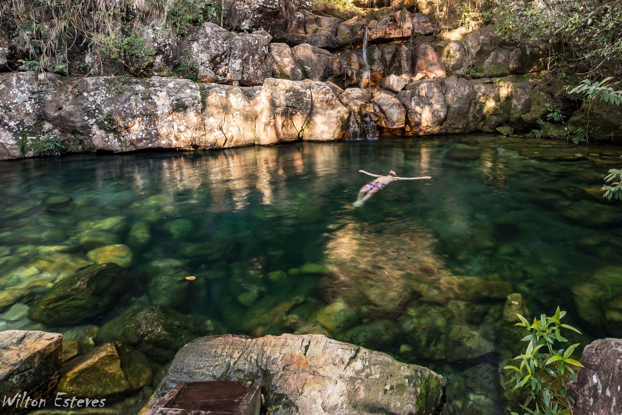Poco da Xama Waterfalls by Wilton Esteves