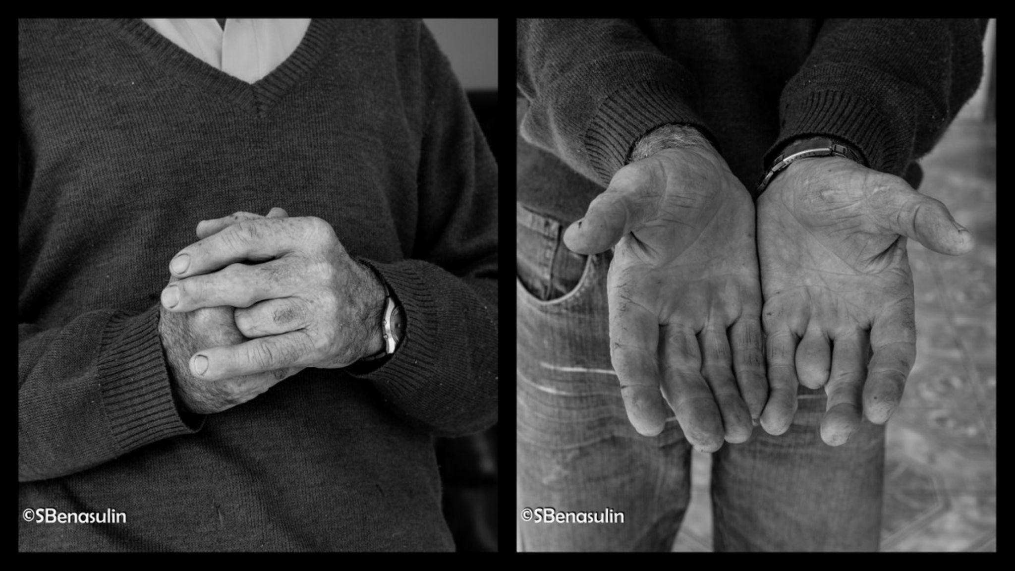 farmer hands! by solange benasulin