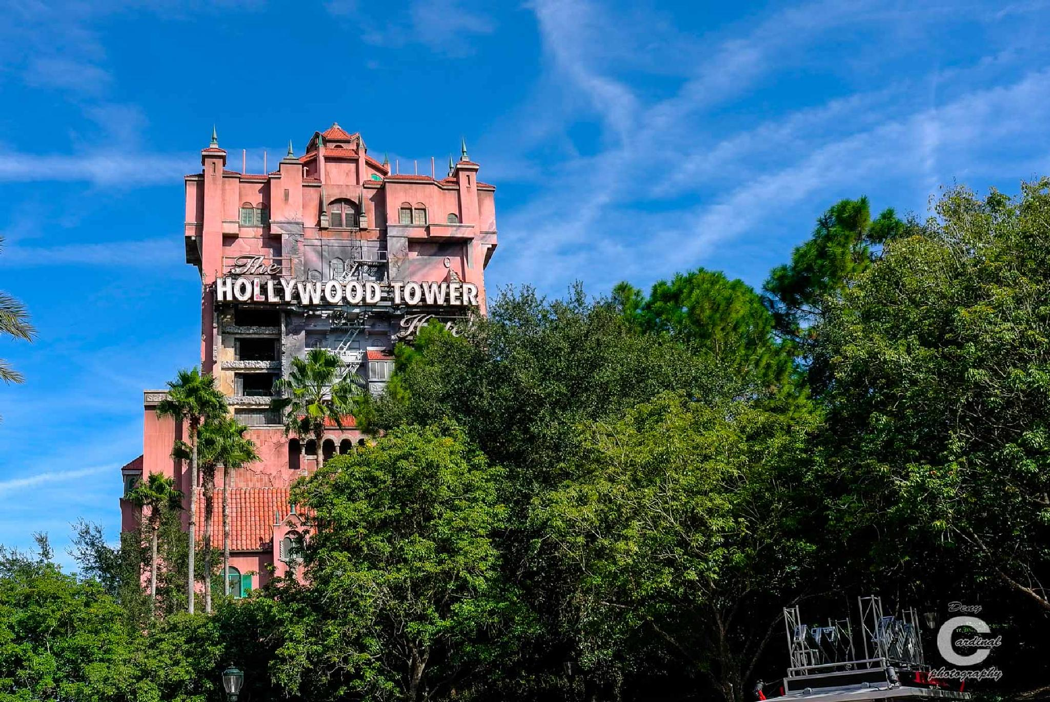 Hollywood tower by denycardinal