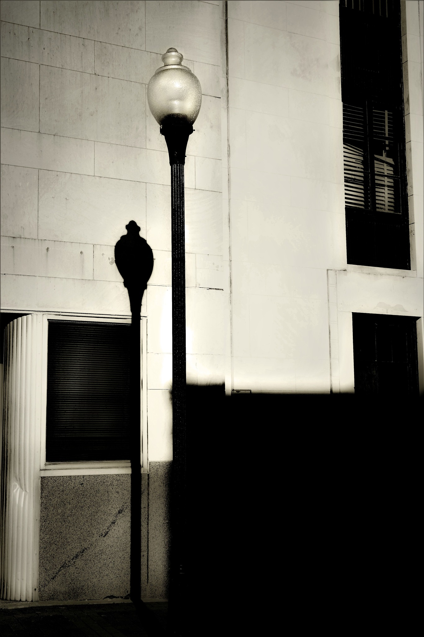 lamp post by Jim Oakes