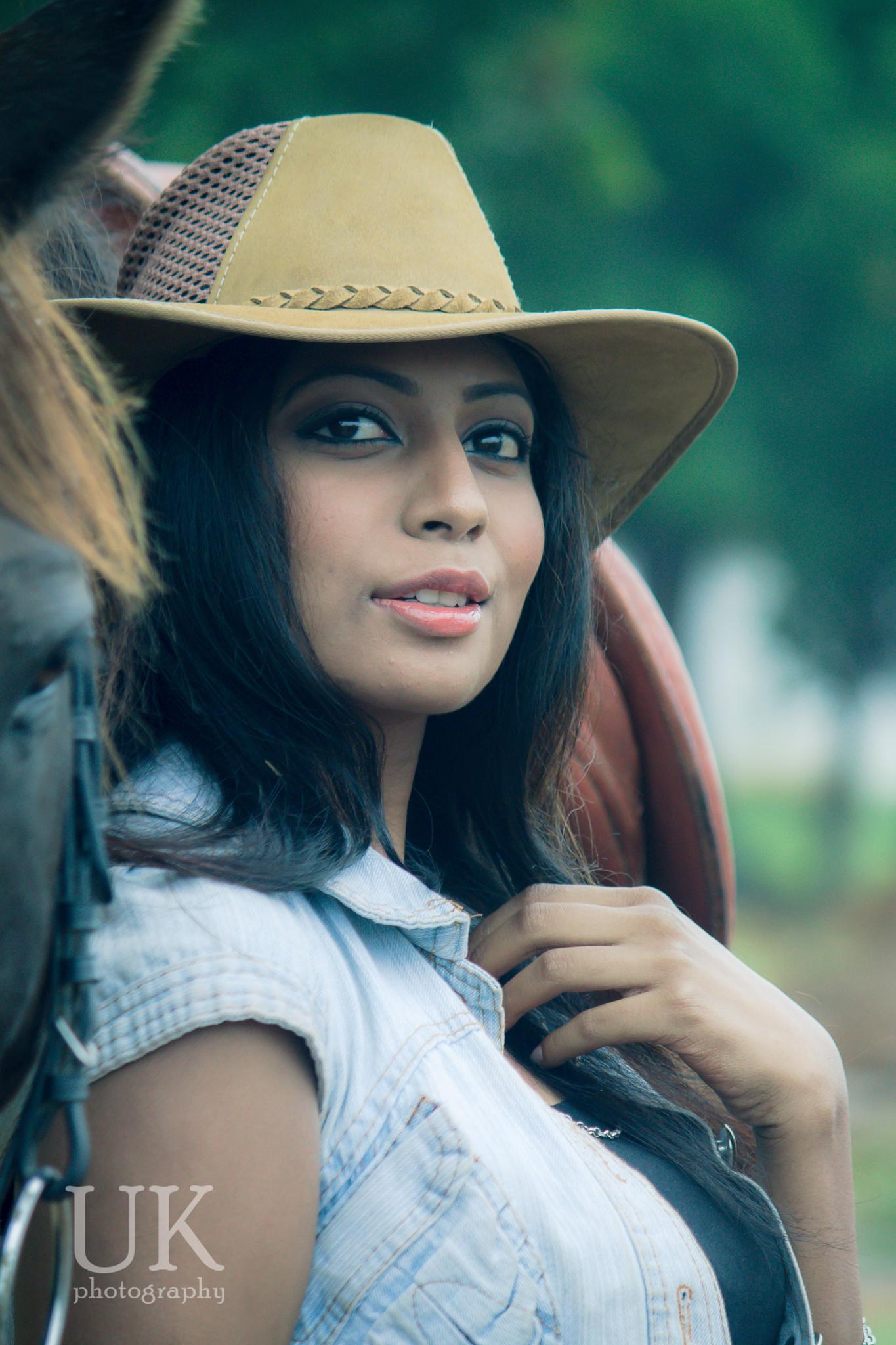 Indian model  by Udaykiran Mudigonda