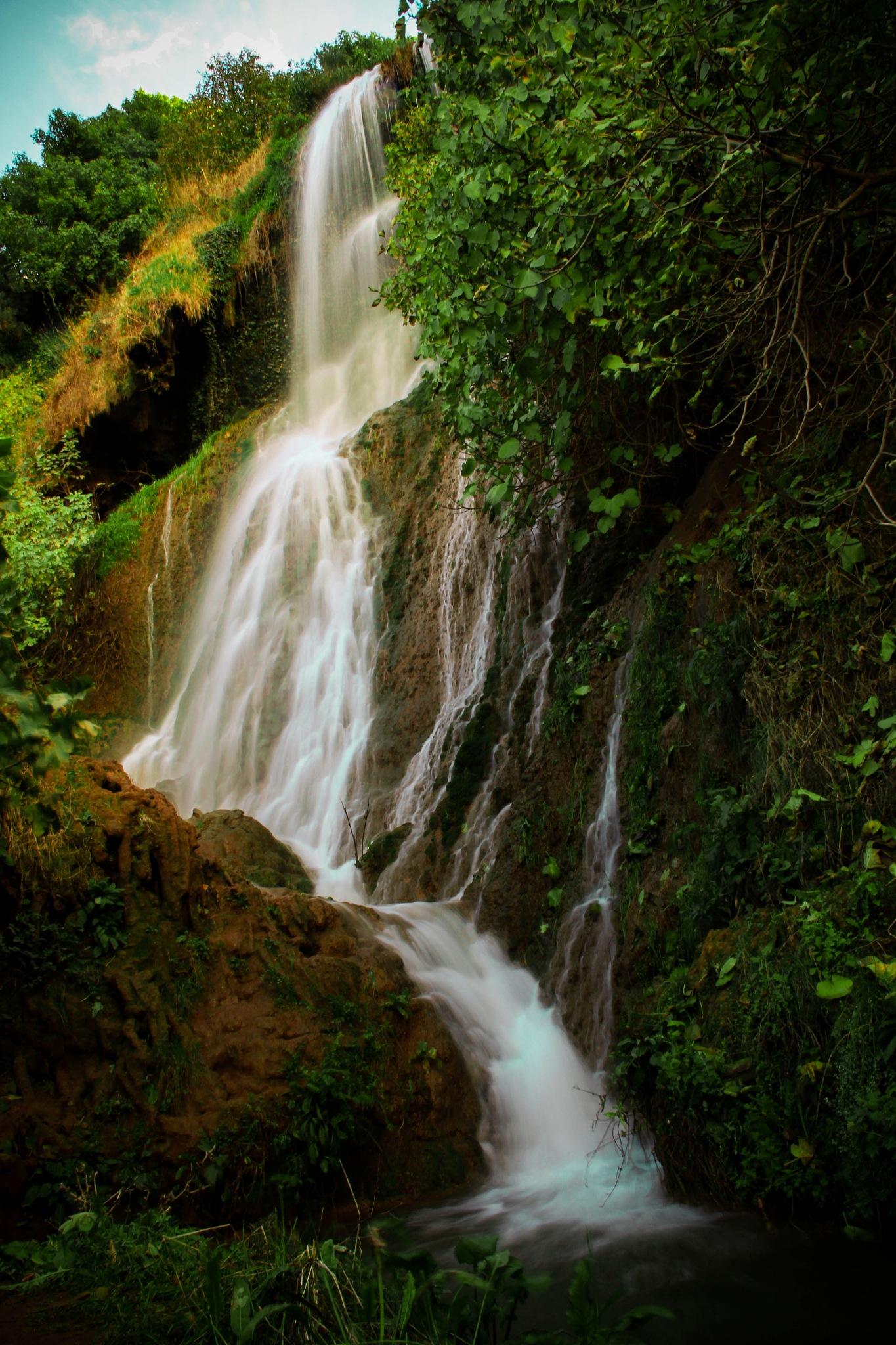 Waterfall by Ayyoub Lamara