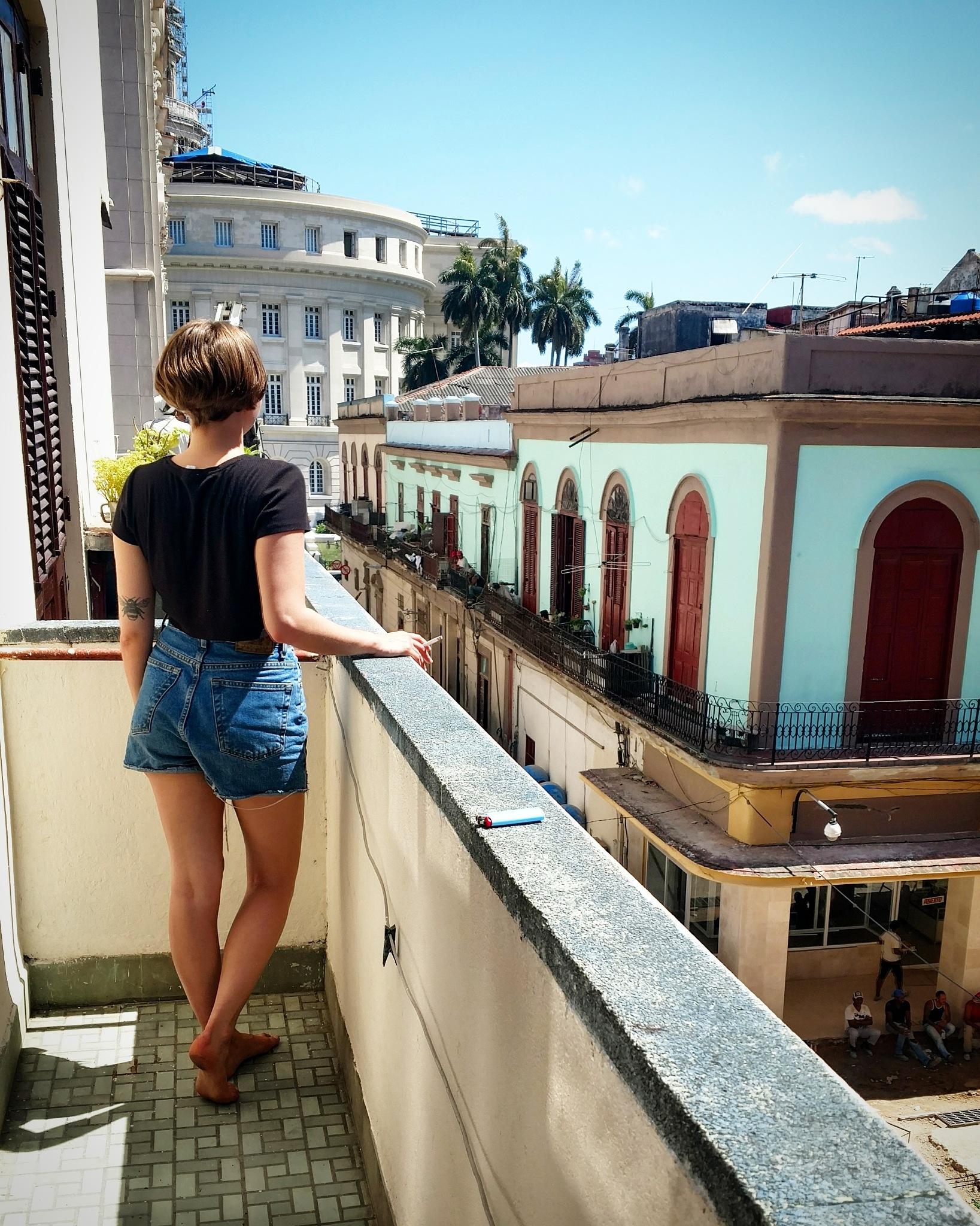 balcony blues by peterphoto