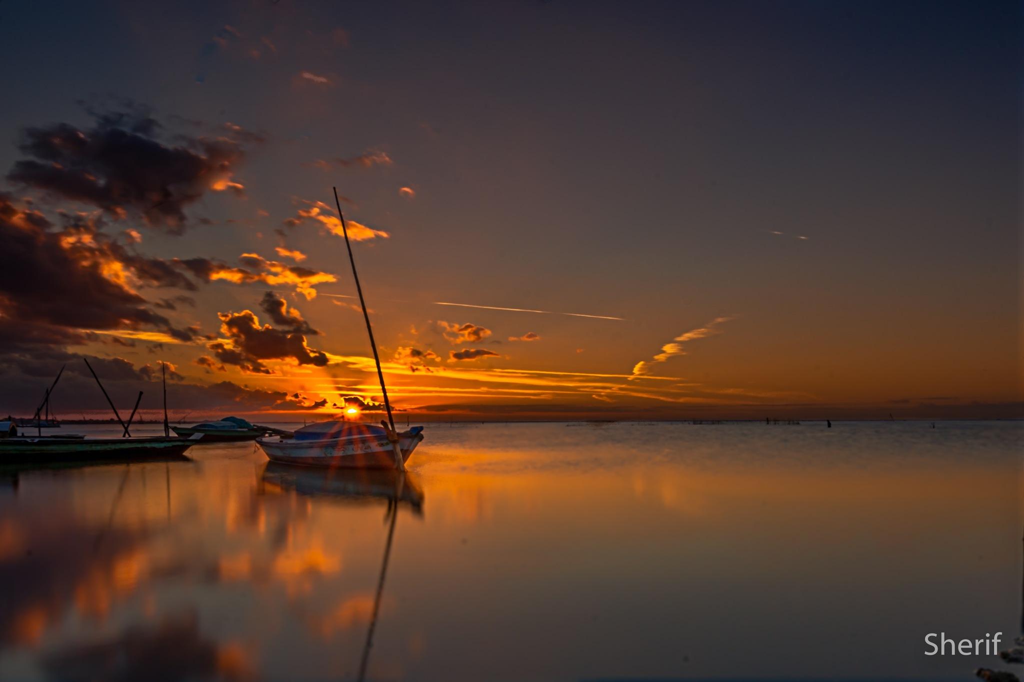 lake by Sherif_Mahdy