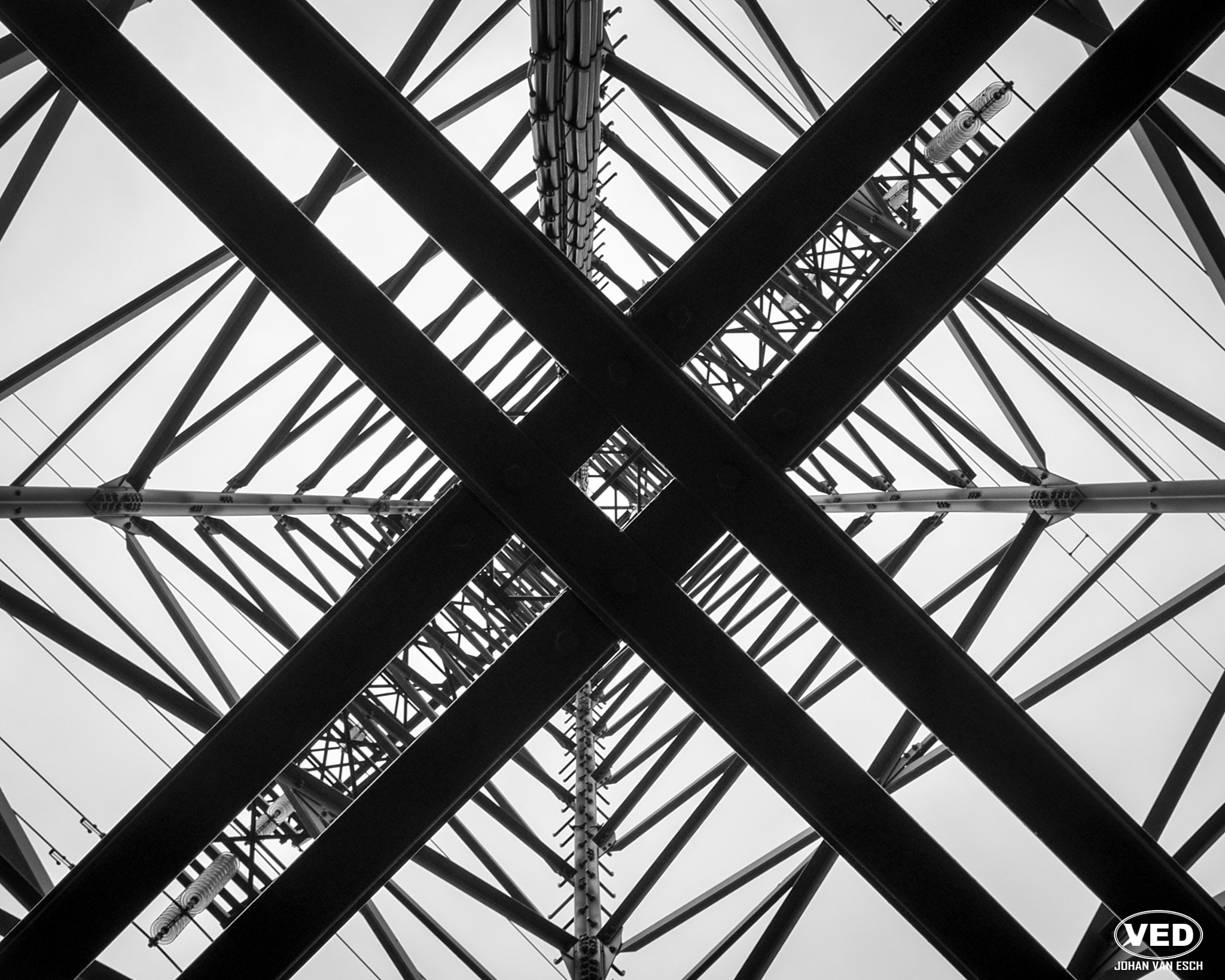 Under the Transmission Tower by Johan van Esch (VED)
