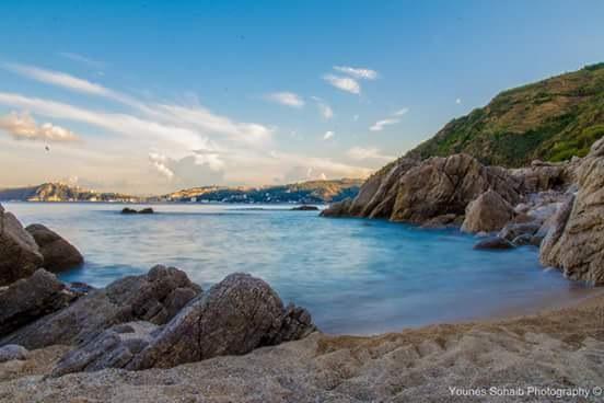 the beatiful beach by Sohaib Younes