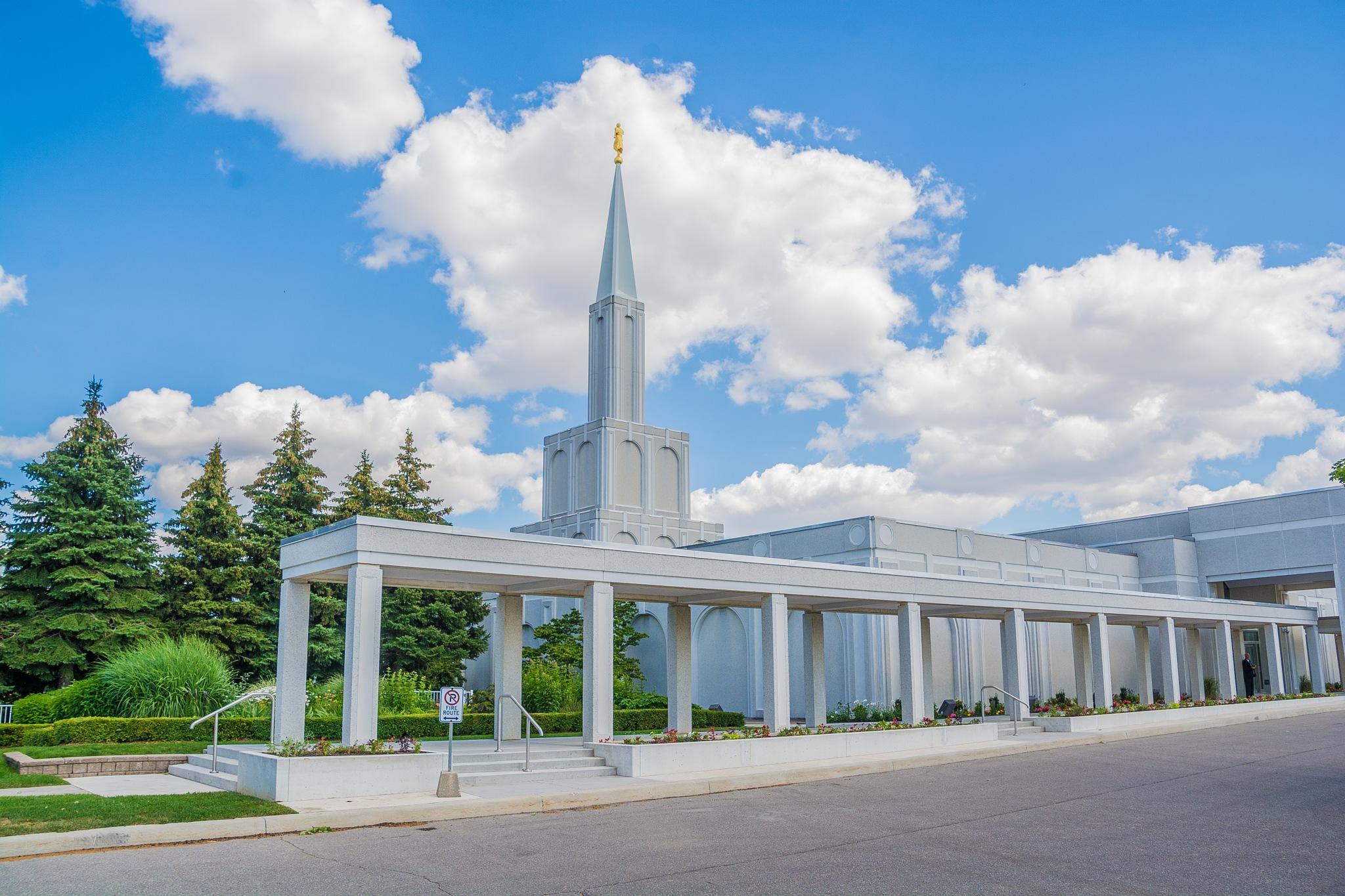 Toronto LDS Temple July 2017 by SteveRedmond