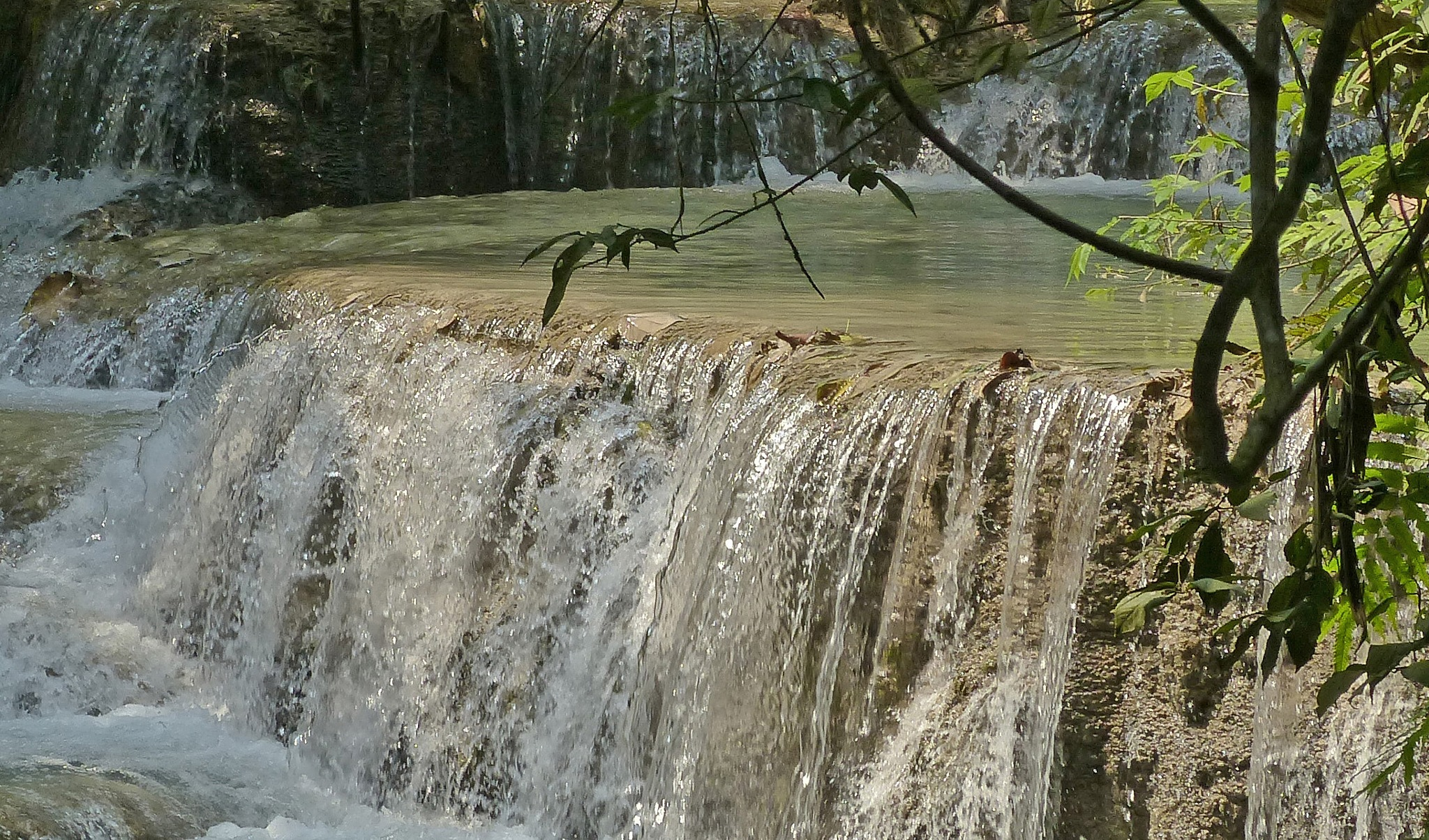 water cascades by Helga Kerner
