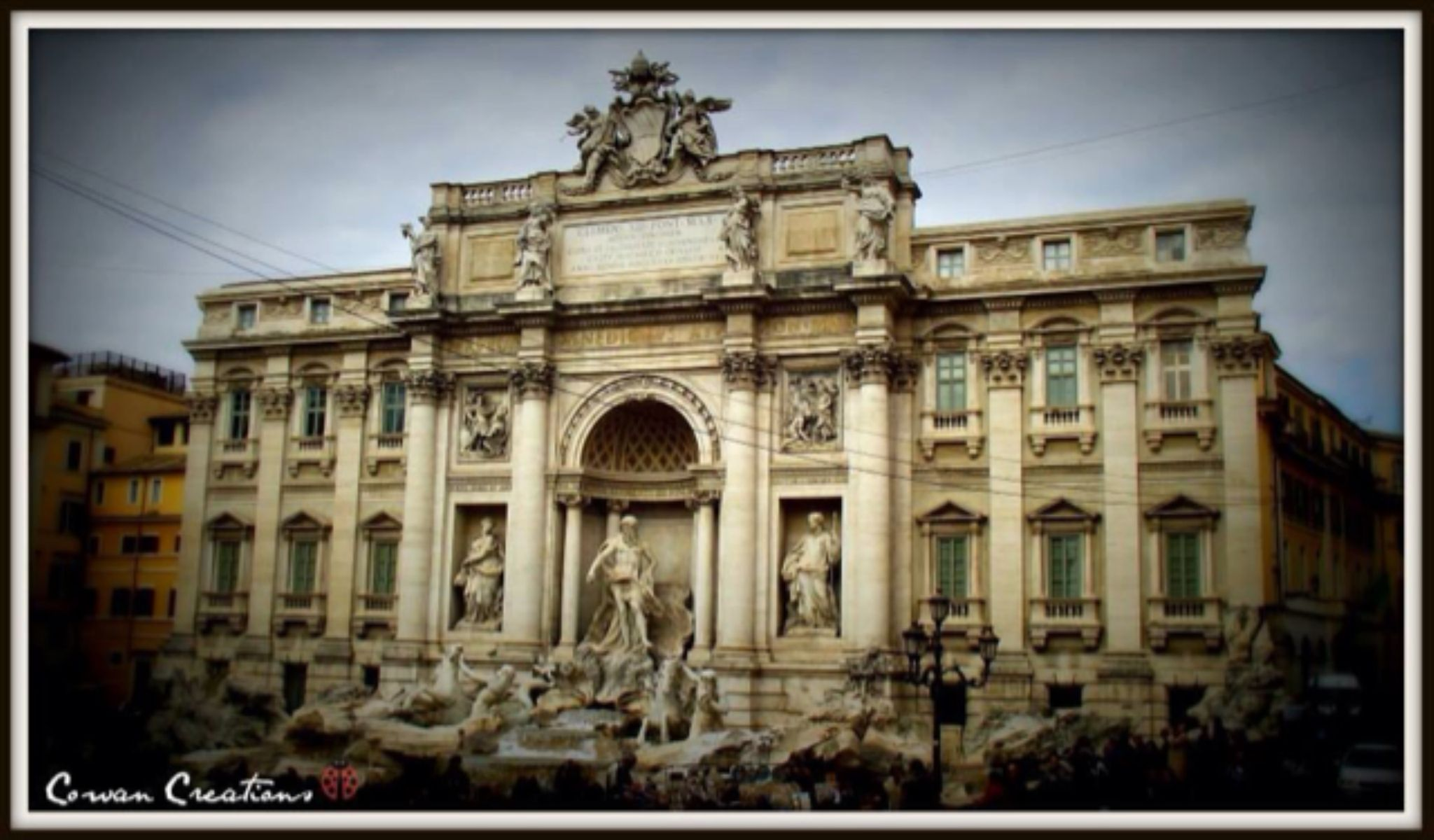 Trevi Fountain by CowanCreations