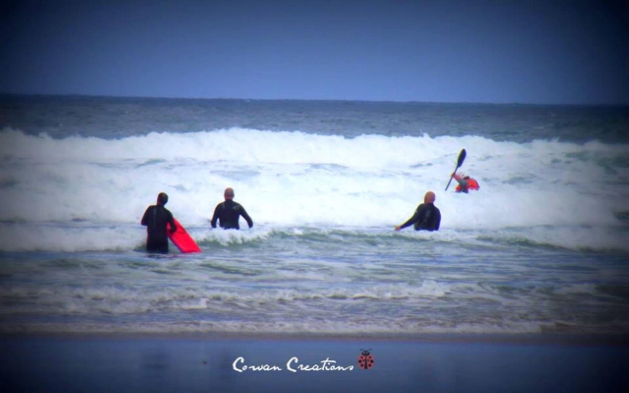 Cornwall Surfers by CowanCreations