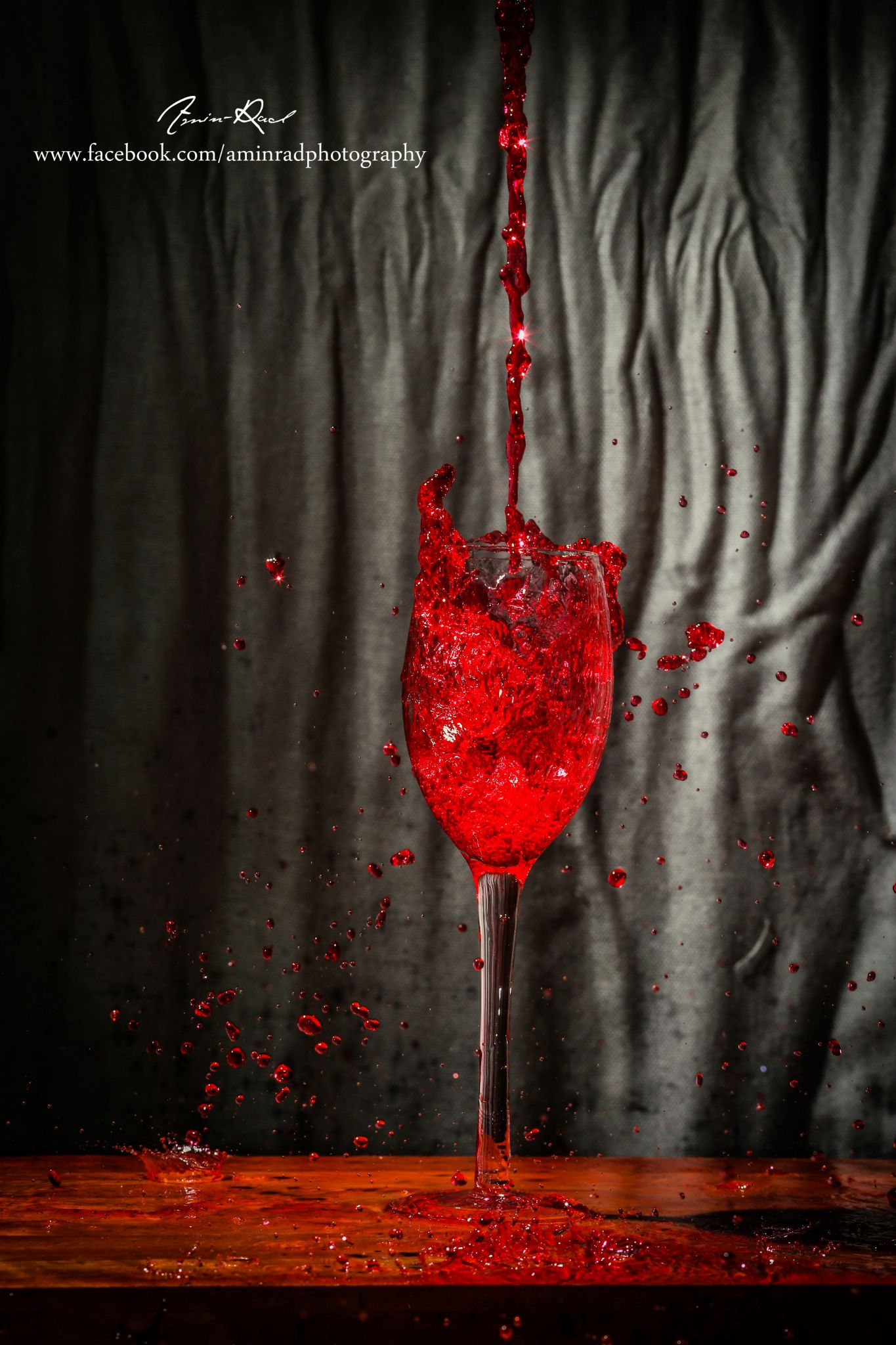 Bloody Glass by AminRad