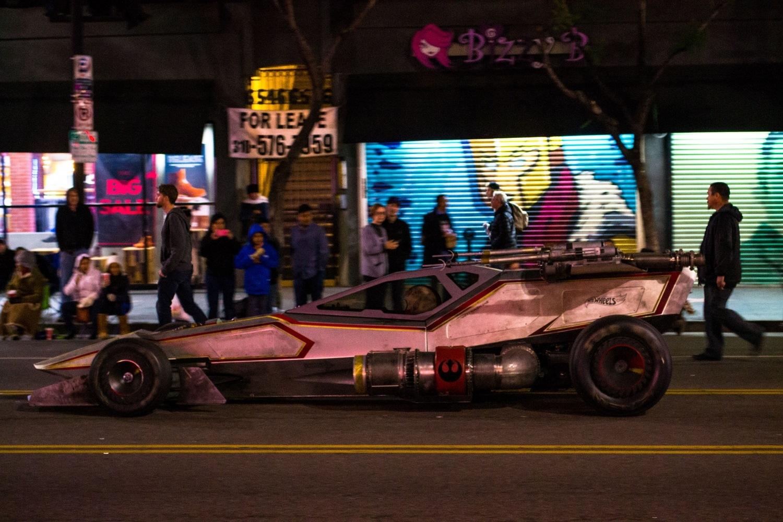 Hollywood Christmas Car Parade by friendlylocalguides