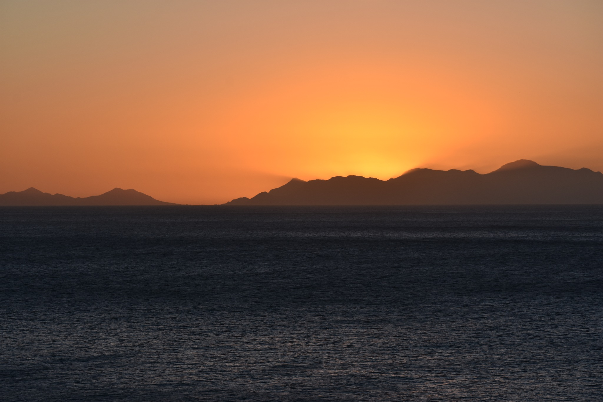Last Sunset In Cape Town by Patrick Rulo