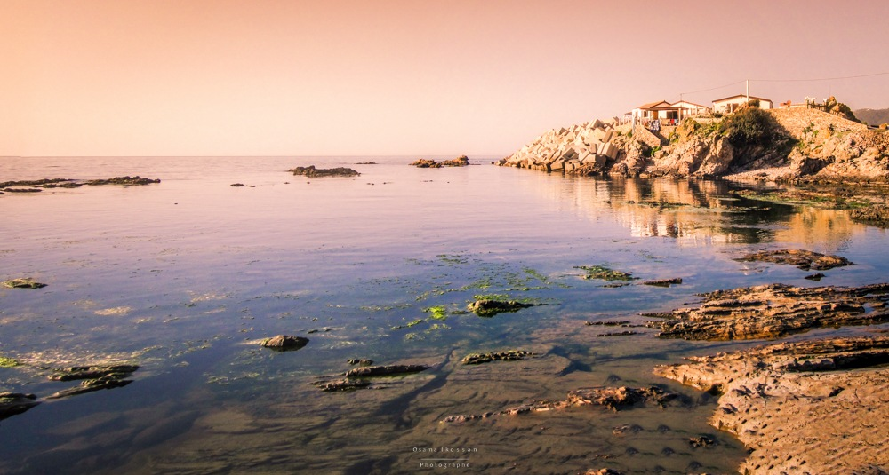 home and beach :) by Ouss Ikossan