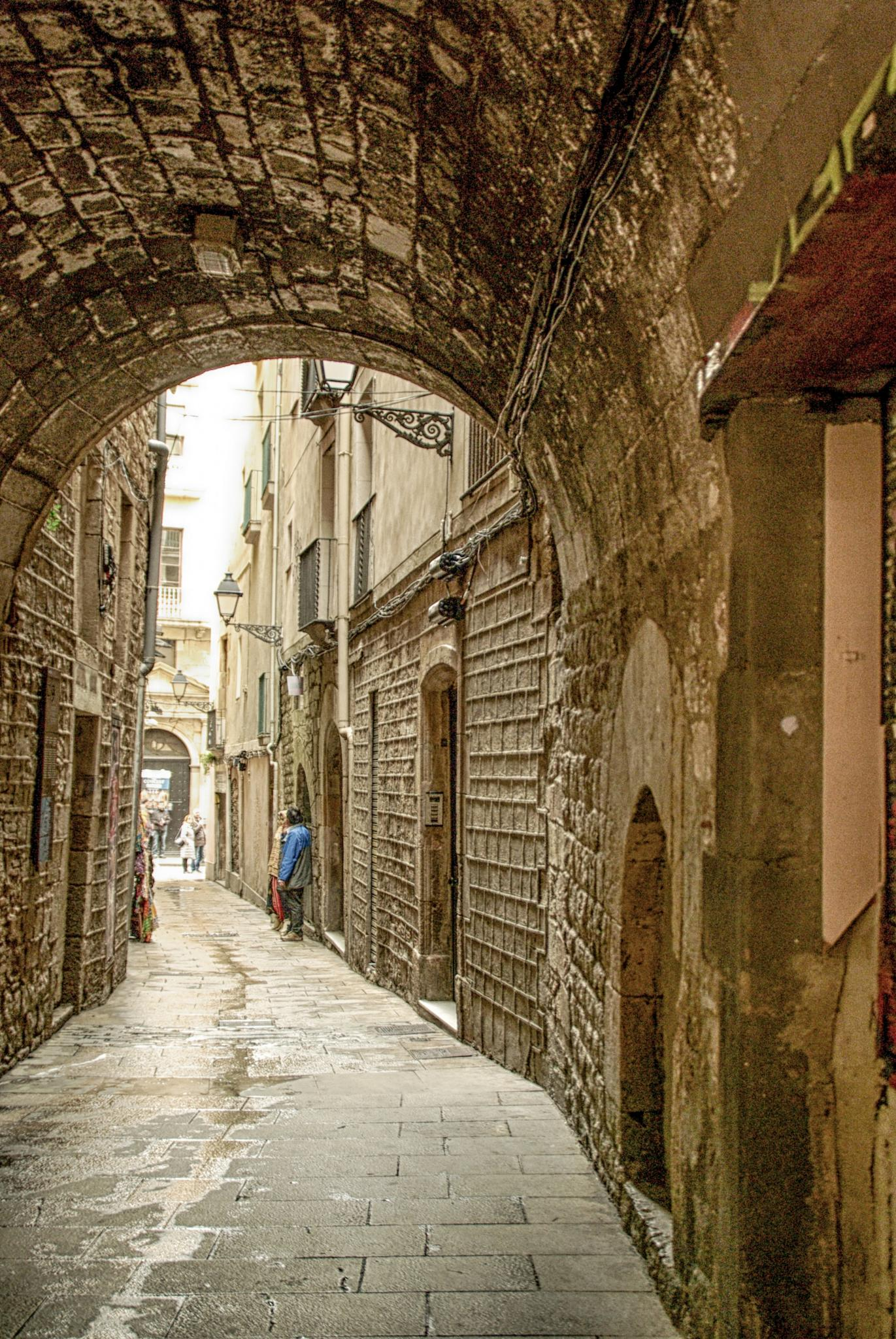 Alleys - 01 by Aker