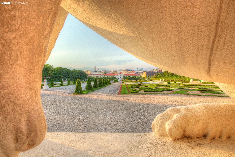 Belvedere Garden • Vienna by Charlie Schwarz