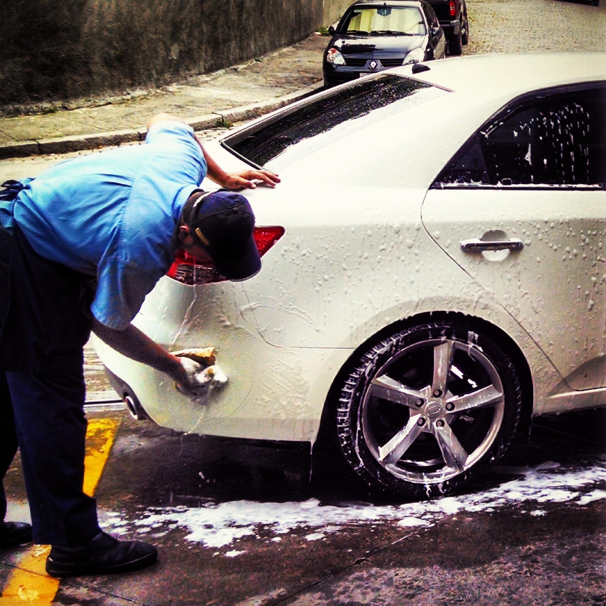 lavando meu carro by extremmer