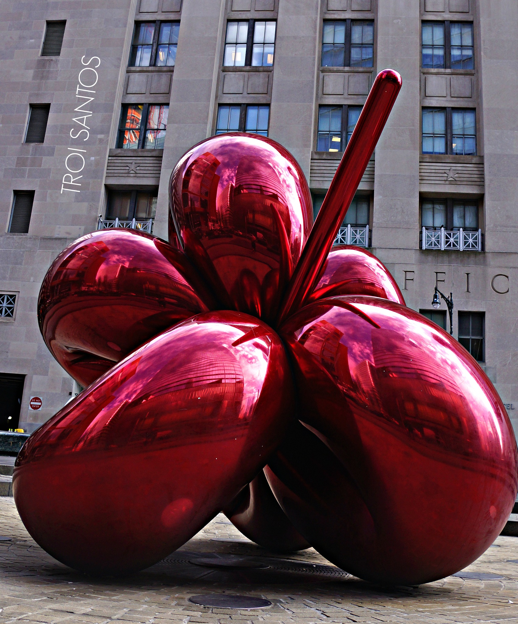 JEFF KOONS BALLOON by Troi Santos