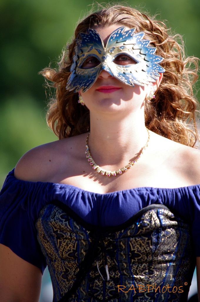Blue Mask by RichardABusch