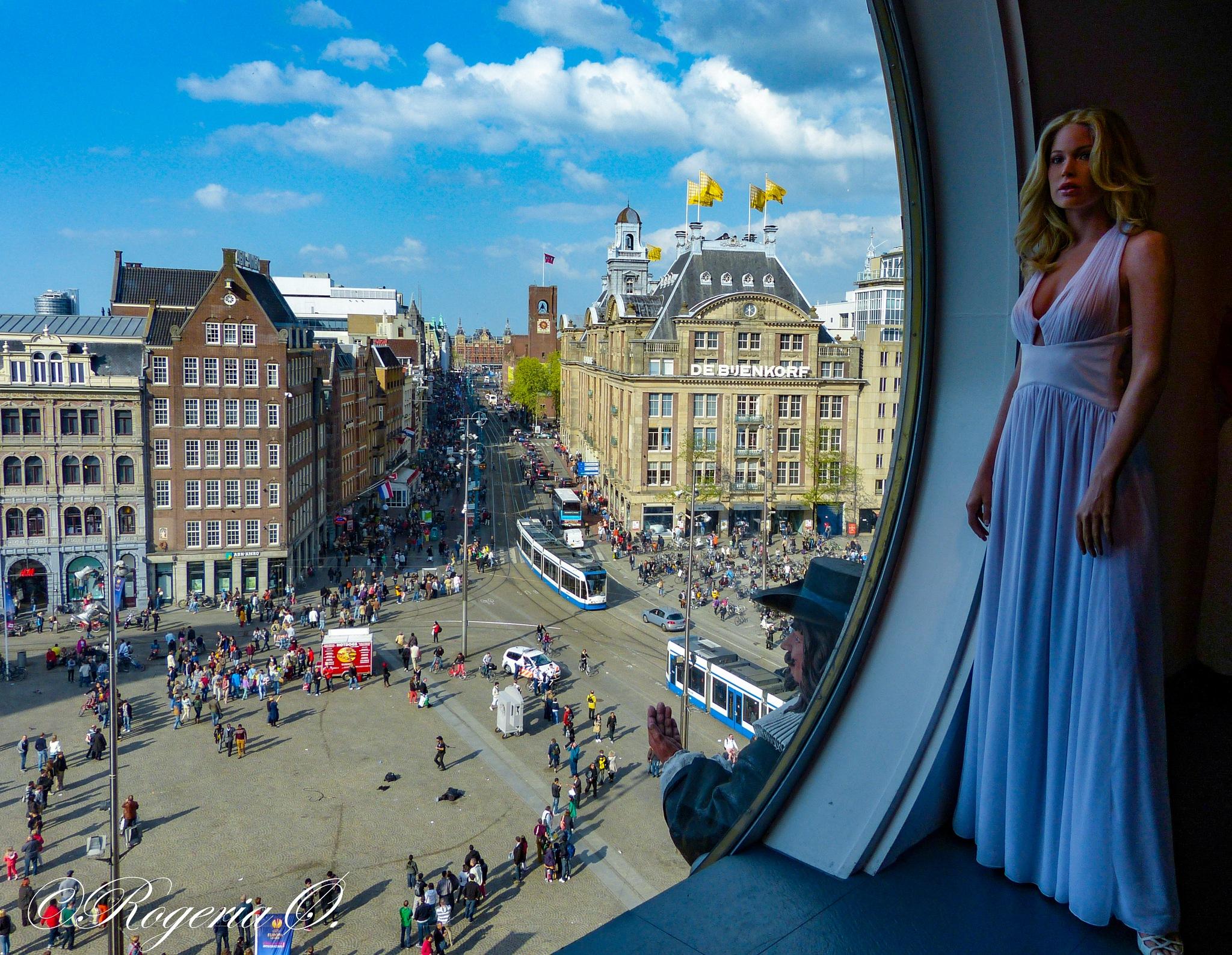 Madame Tussauds Amsterdam by Rogeria Øksendal
