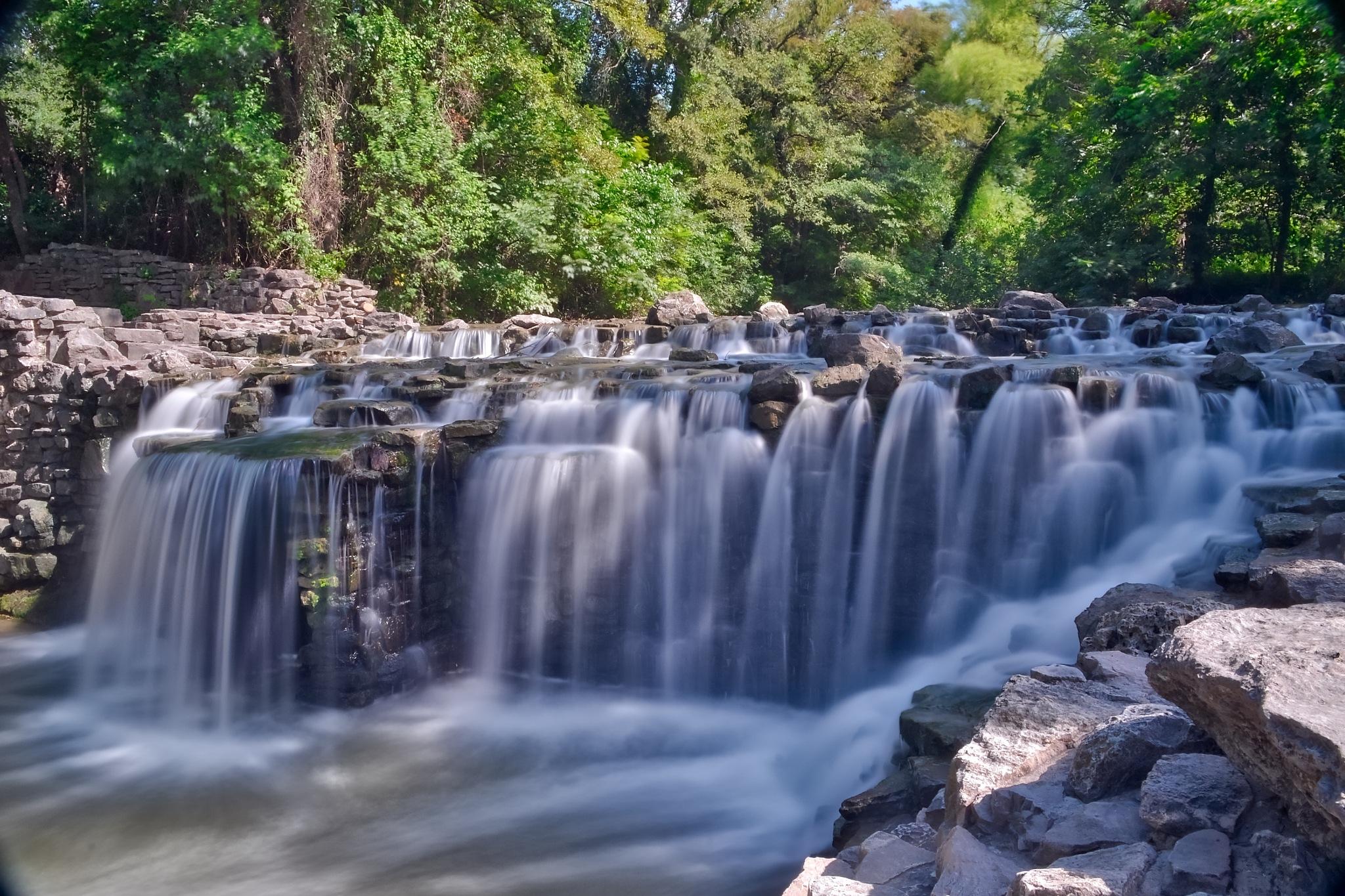 Prairie Creek Waterfall by AdamKBuchanan