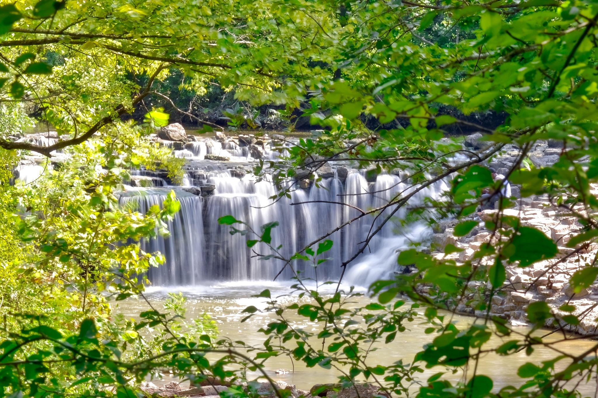 Hidden Waterfall by AdamKBuchanan