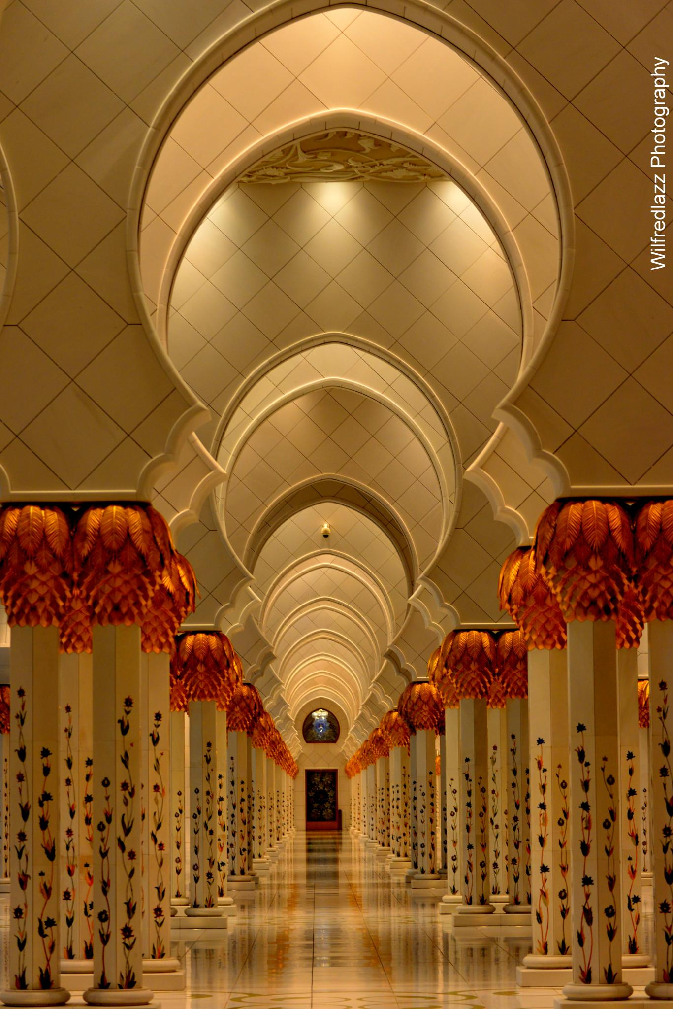 Sheikh Zayed Grand Mosque  by Wilfred Panakkal