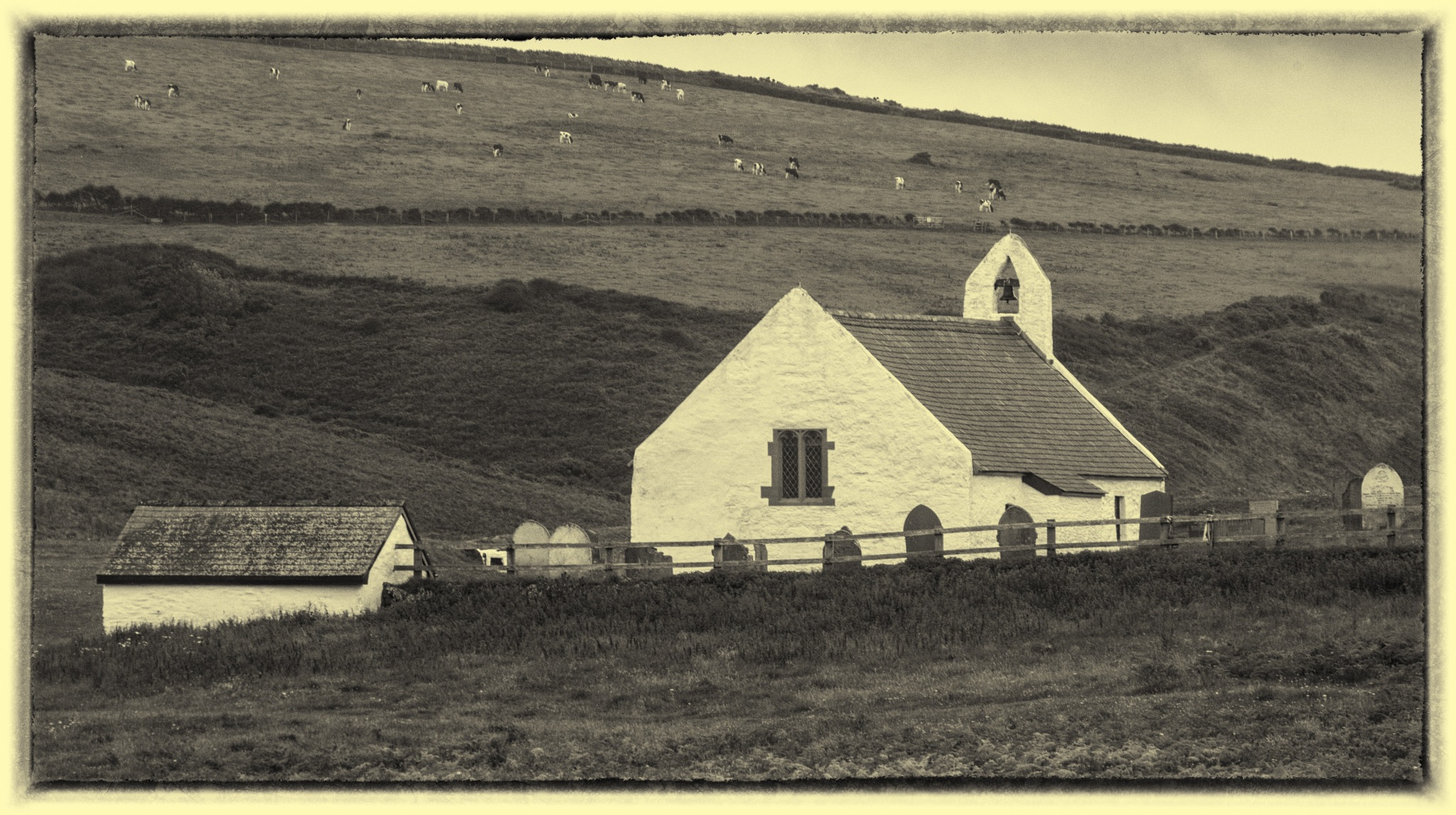 Mwnt Church by rfoulkes