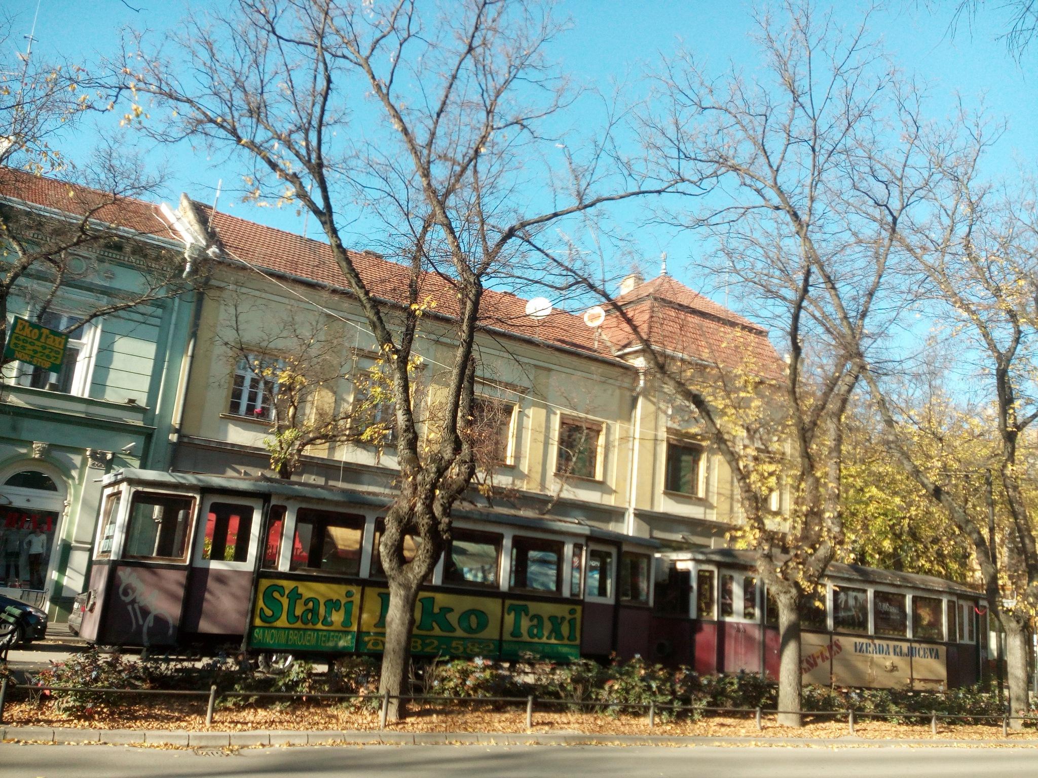Stari tramvaj by Minja