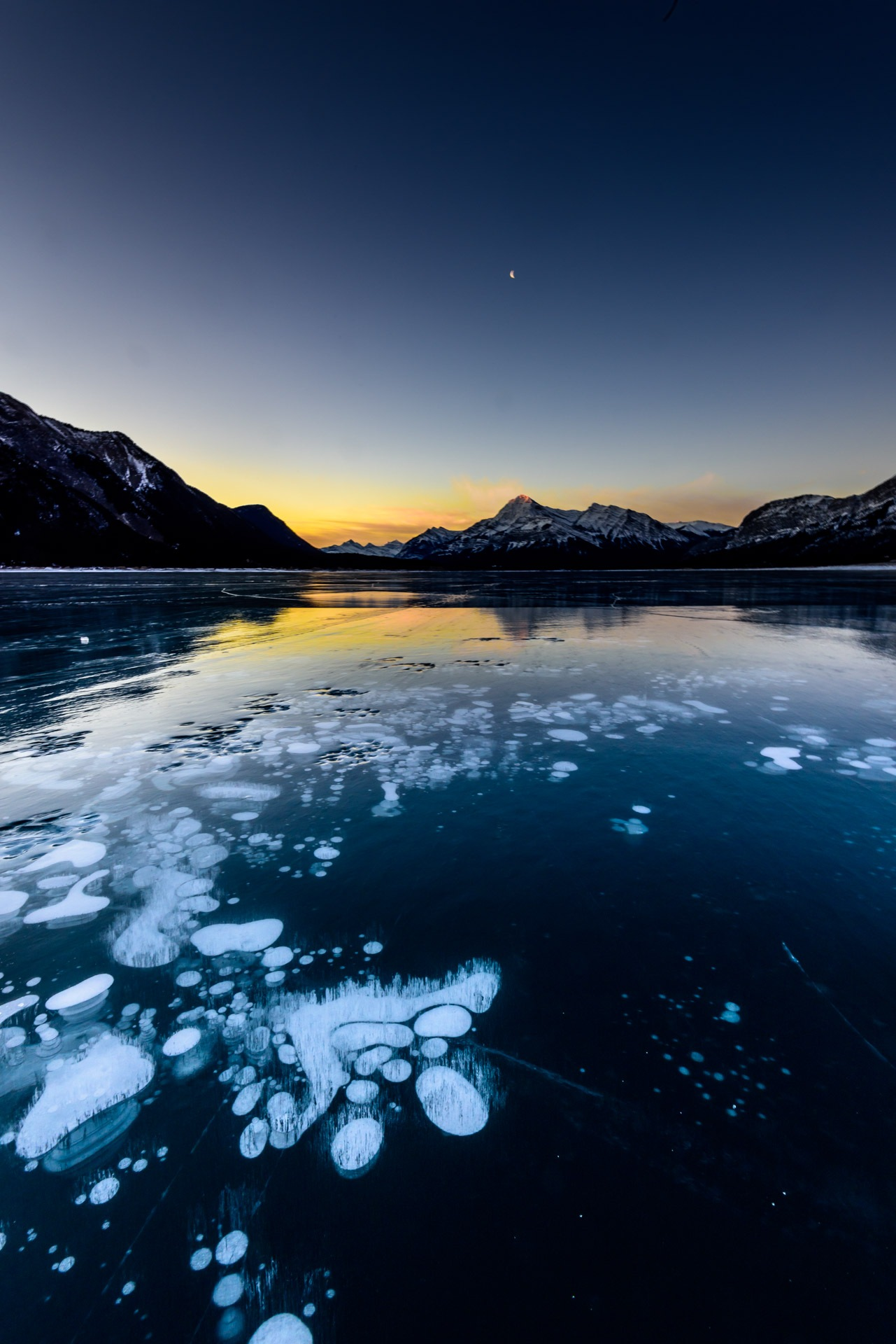 Ice Bubbles by Vernie Gillespie