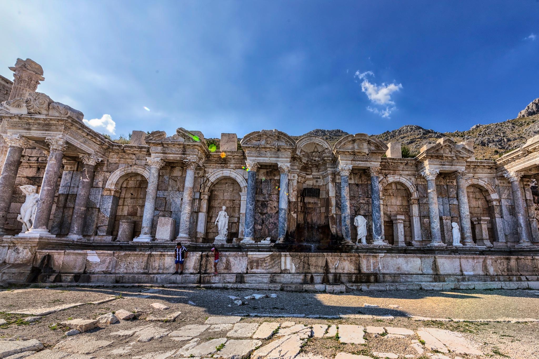Antoninus fountain by erdinc senyurek