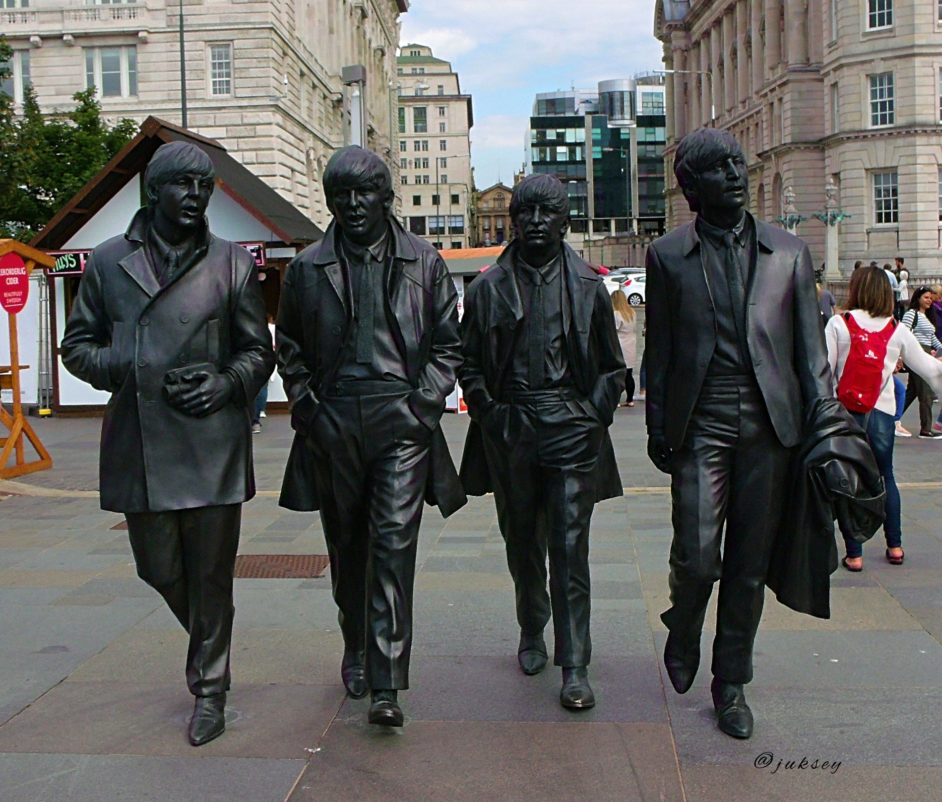 the beatles by Chris Jukes