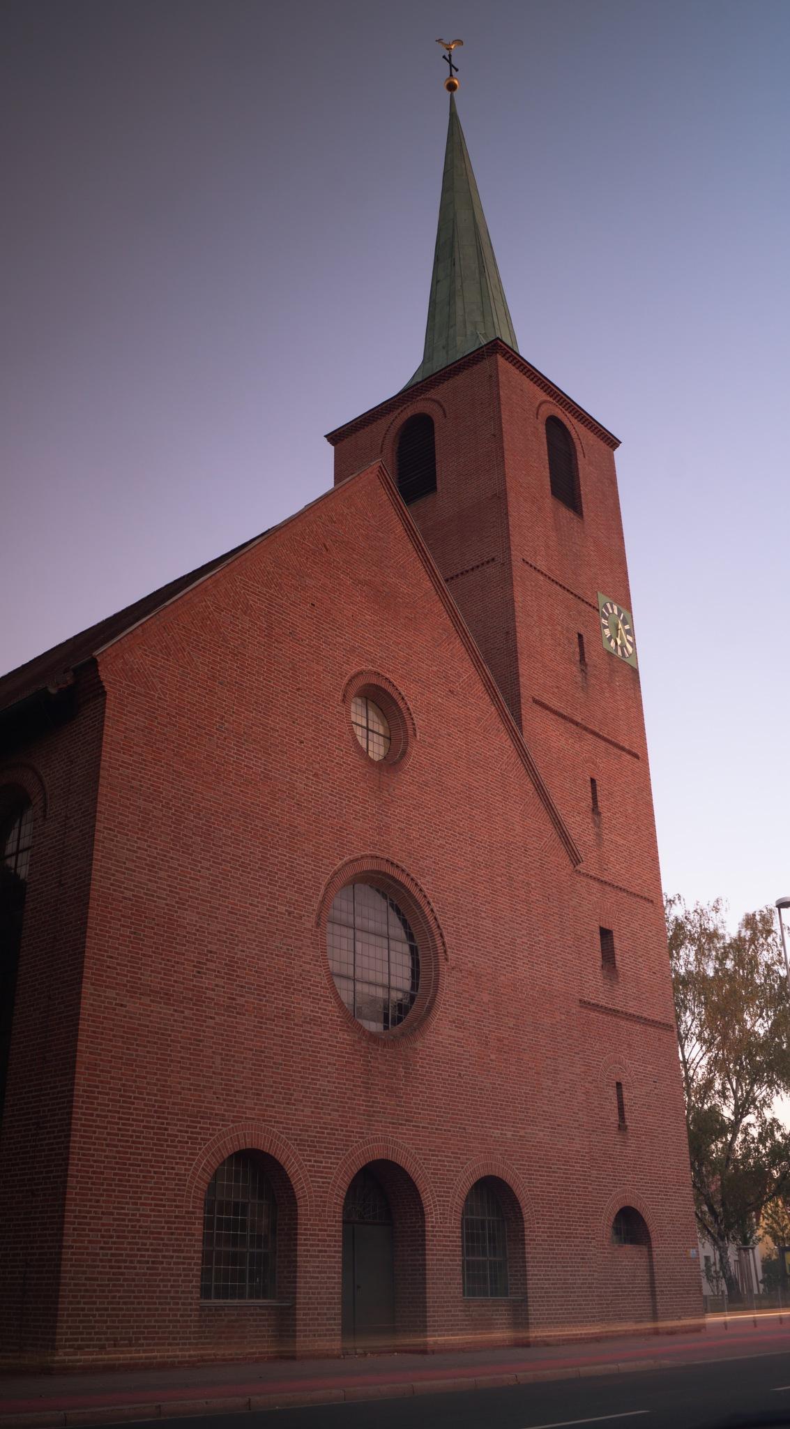 Church before the sundown by Marcelo Hernan Zimmt