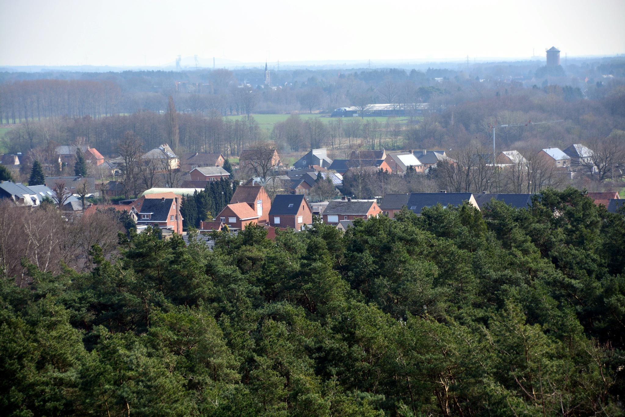Uitzicht Beringen Mijnsite  by Donny Zanders