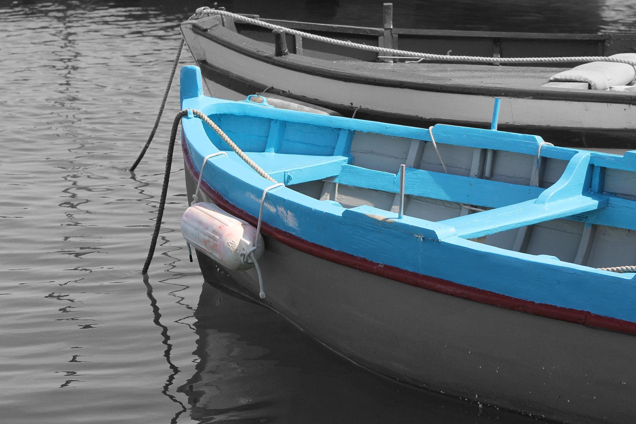 Photo in Black and White #boats #sea #quietness #sun #napoli #pozzuoli #bacoli