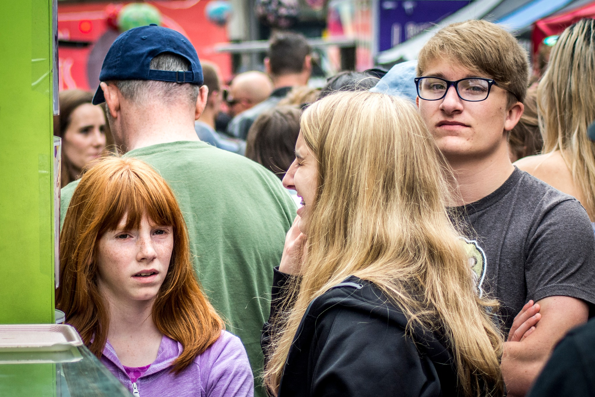 Crowds 2 by Dickon Lentell