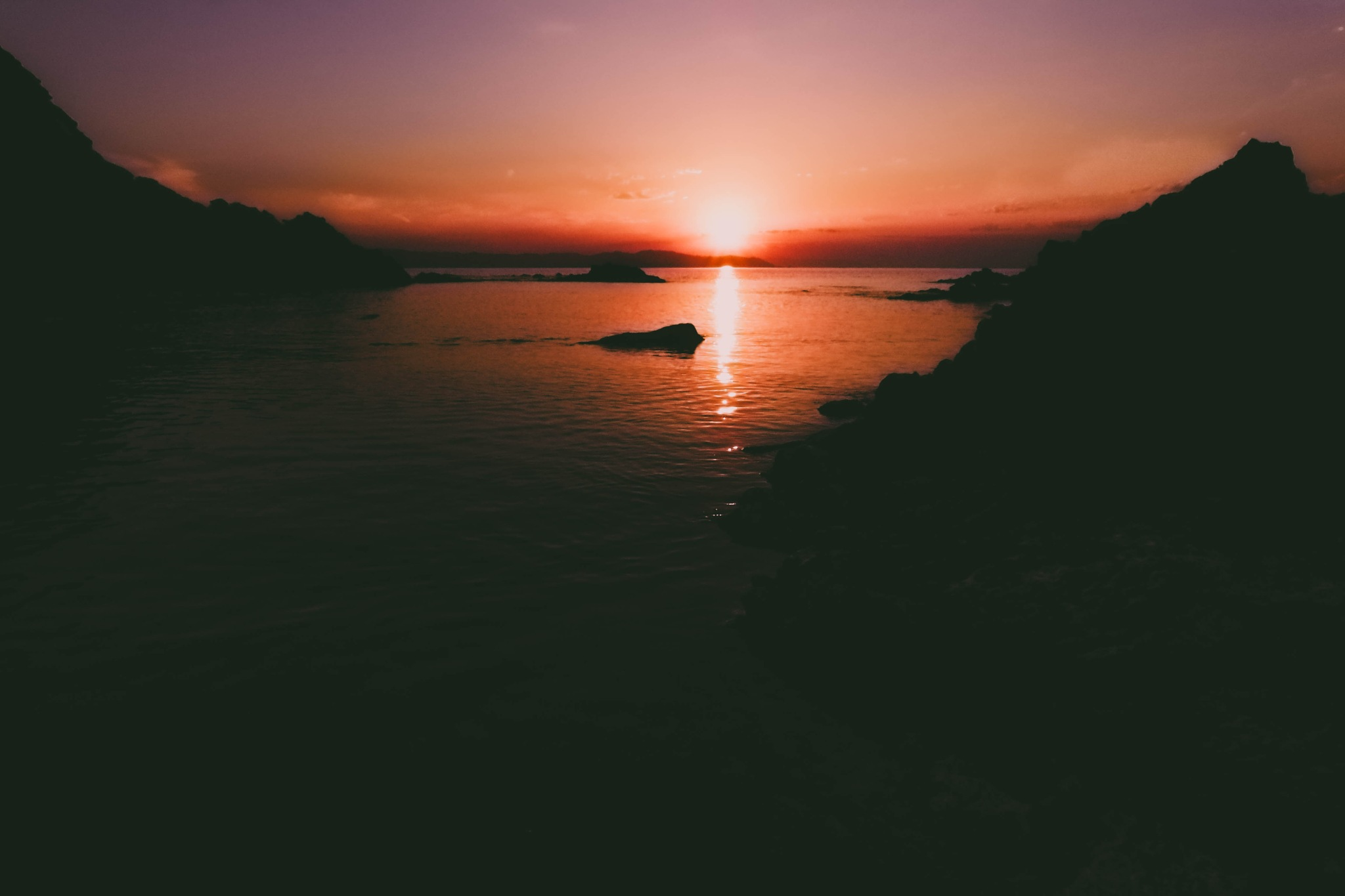 Sunset by Wounded Man