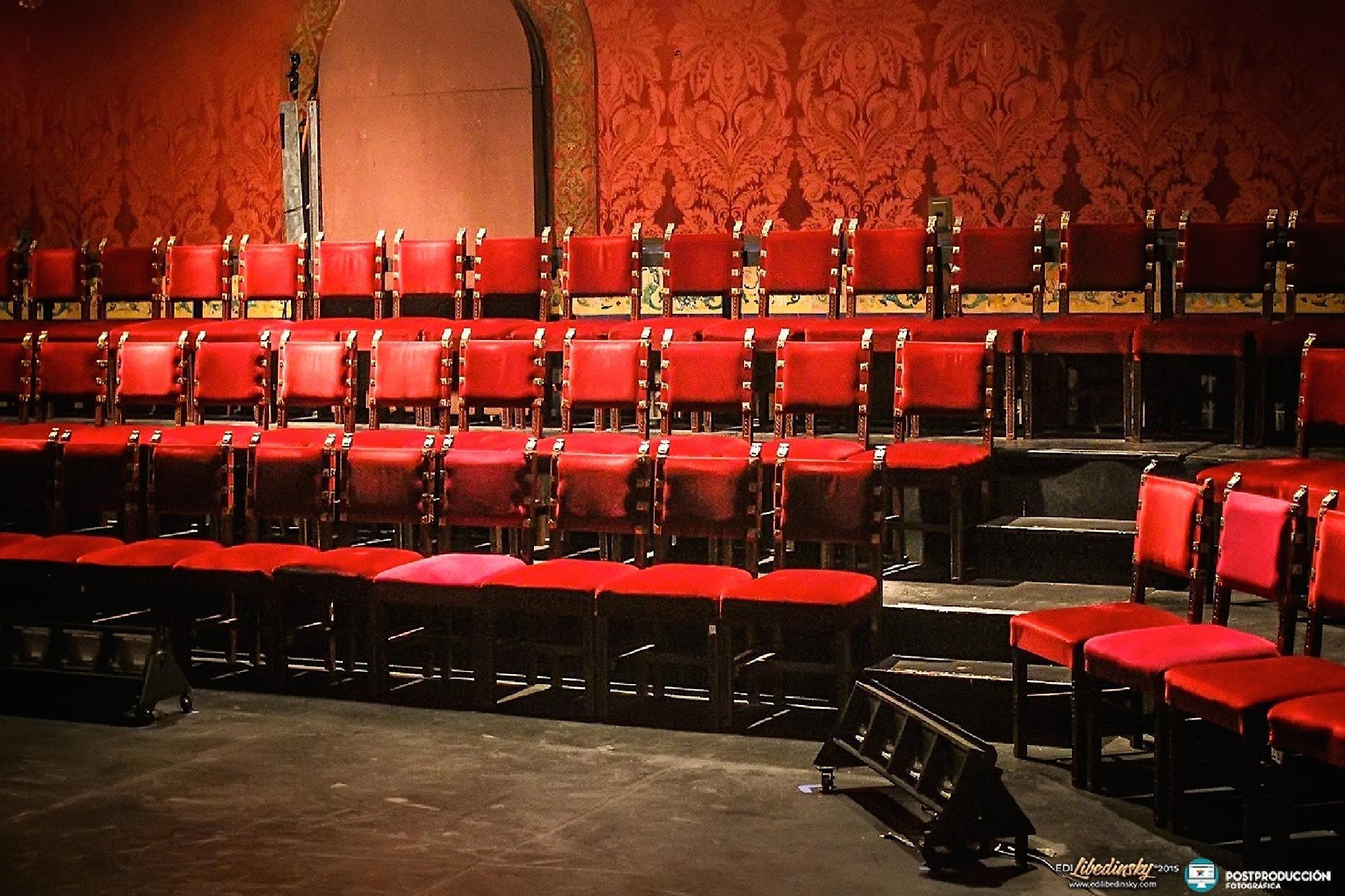 Teatro Nacional Cervantes - © 2015 - Edi Libedinsky by Edi Libedinsky