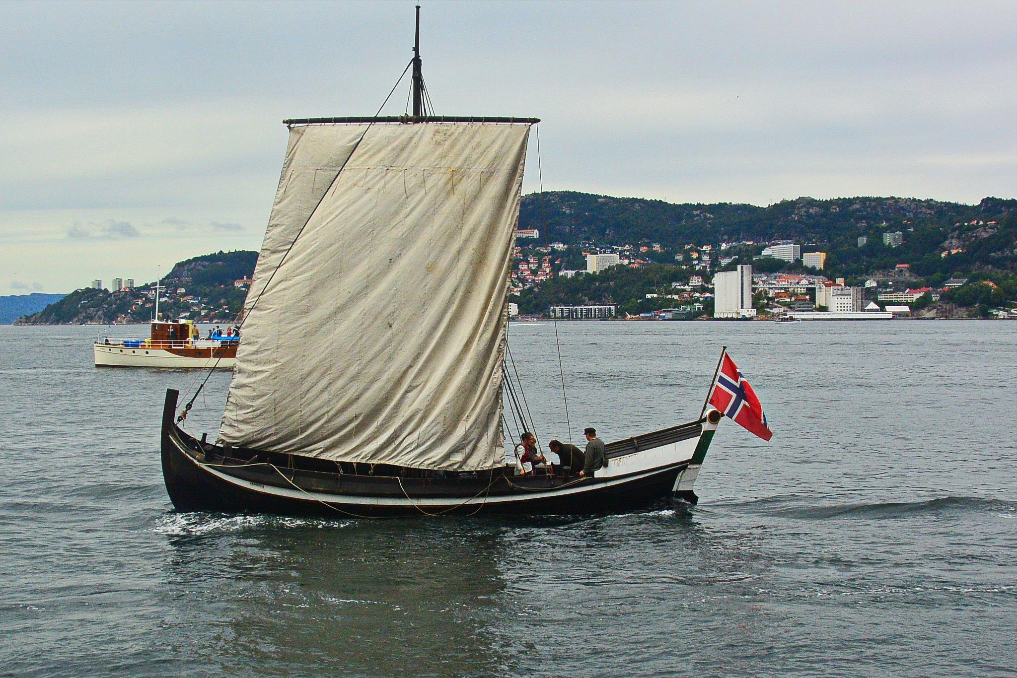 Nostalgia - 18th century boat by Per Molvik