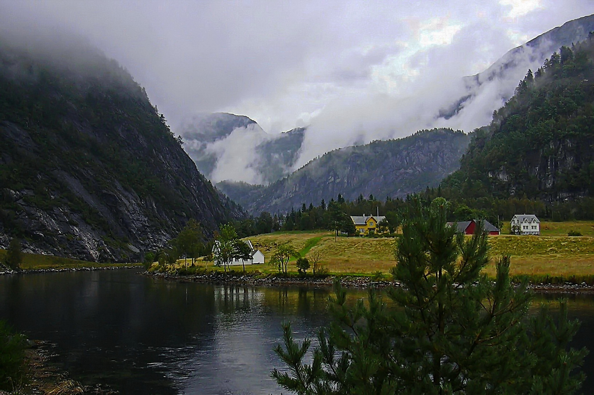 Fjord and mountains, it,s western Norway by Per Molvik