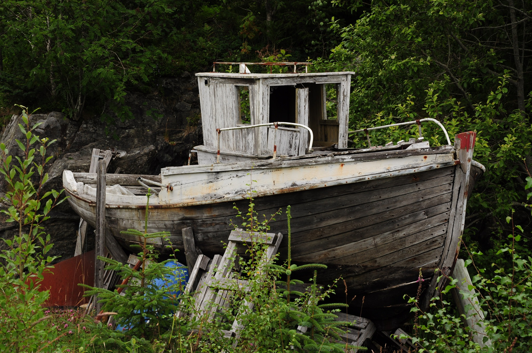 Retired, not usable on sea anymore. by Per Molvik