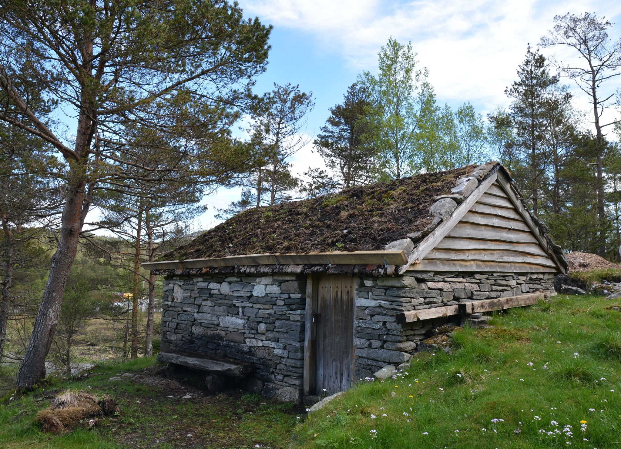 Stone barn for goats.  by Per Molvik
