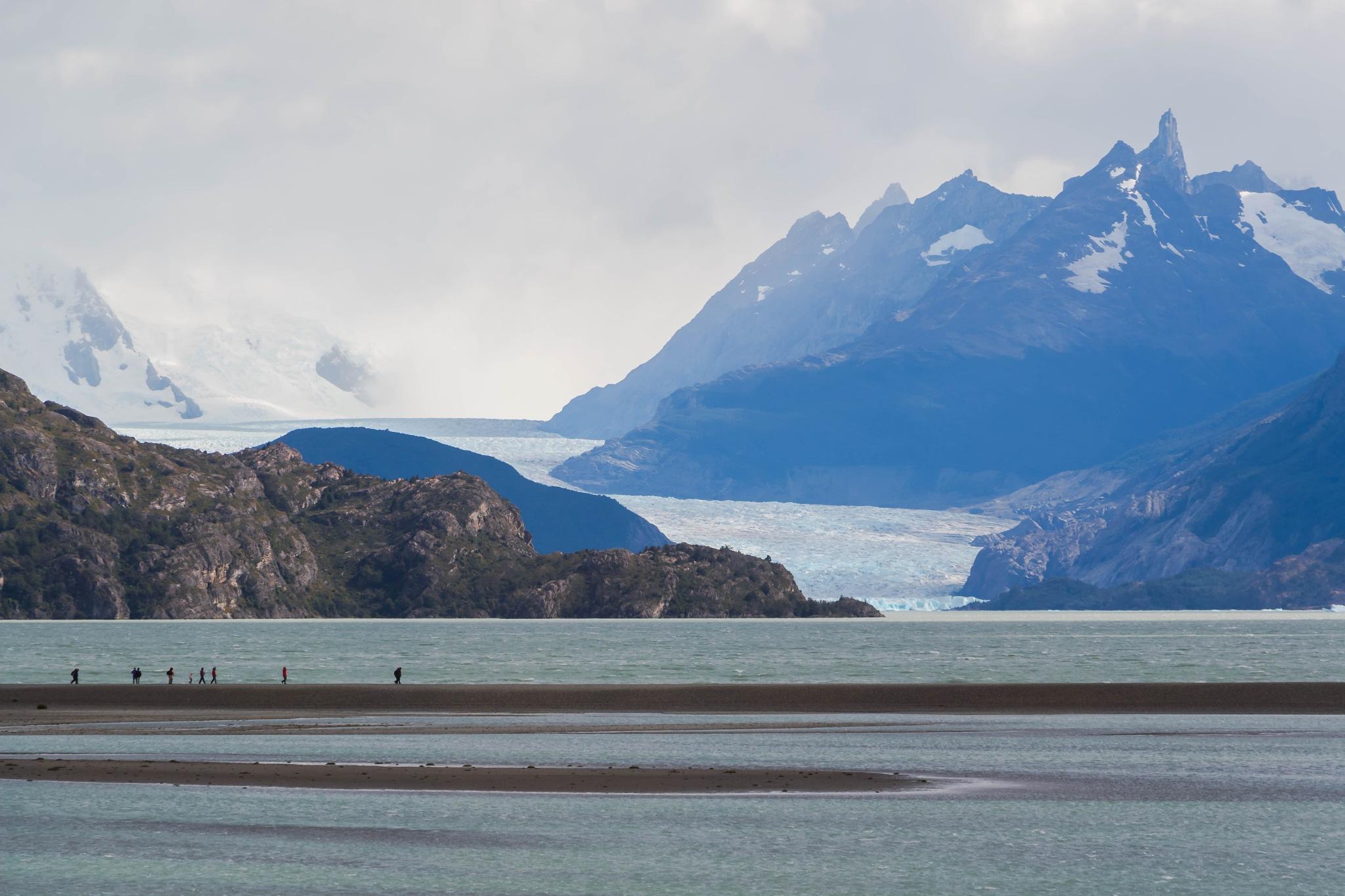 Glaciar Grey by ecamus